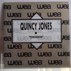 Dischi in vinile: QUINCY JONES - TOMORROW / LA MISMA - NUEVO PROMO ESPAÑOL. Lote 97703119