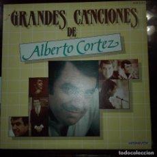 Discos de vinilo: GRANDES CANCIONES DE ALBERTO CORTEZ. Lote 97703979