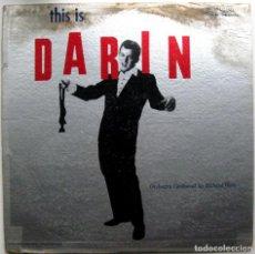 Discos de vinilo: BOBBY DARIN - THIS IS DARIN - LP ATCO RECORDS 1959 MONO USA BPY. Lote 97710643