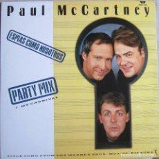Discos de vinilo: PAUL MCCARTNEY (THE BEATLES): ESPÍAS COMO NOSOTROS (SPIES LIKE US) PARTY MIX / ESPÍAS COMO NOSOTROS . Lote 97718007