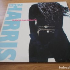 Discos de vinilo: DANA HARRIS. MY WORLD IS EMPTY WITHOUT YOU. Lote 97720675