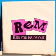 Discos de vinilo: R.E.M. - TURN YOU INSIDE-OUT / IDEM - PROMO. Lote 97725711