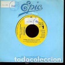Discos de vinilo: SINGLE HANSEL Y LA ORQUESTA CALLE OCHO - QUIERO RECORRER TU CUERPO - 7 SINGLE - AÑO 1990 -. Lote 97730487