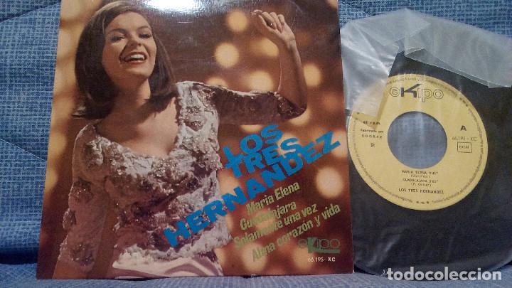 LOS TRES HERNANDEZ. MARIA ELENA + 3 - EP. EKIPO 1968. EP EN ESTADO IMPECABLE (Música - Discos de Vinilo - EPs - Grupos y Solistas de latinoamérica)