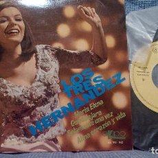 Discos de vinilo: LOS TRES HERNANDEZ. MARIA ELENA + 3 - EP. EKIPO 1968. EP EN ESTADO IMPECABLE. Lote 97732879