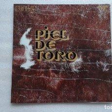Discos de vinilo: LOS RELAMPAGOS - PIEL DE TORO LP 1971 . Lote 97733339