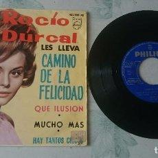 Disques de vinyle: ROCÍO DURCAL CON LOS SONOR: CAMINO DE LA FELICIDAD + 3 (PHILIPS 1964). Lote 97749788