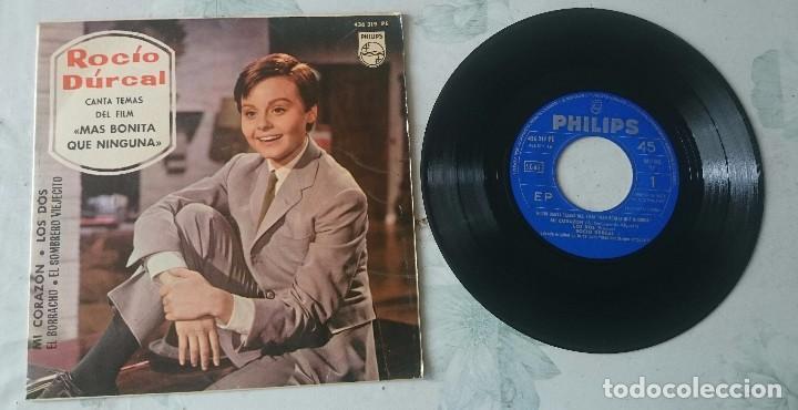 ROCIO DURCAL: MI CORAZÓN + 3 (PHILIPS 1965) (Música - Discos de Vinilo - EPs - Solistas Españoles de los 50 y 60)