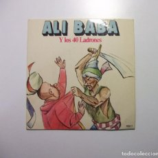 Discos de vinilo: ALI BABA Y LOS 40 LADRONES. TEATRO INFANTIL SAMANIEGO. TDKDS7. Lote 97761667