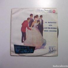 Discos de vinilo: ORQUESTA INGENIERIA. LAS MAÑANITAS. AZUL. ALGO PARA RECORDAR. NEGRA CONSENTIDA. TDKDS7. Lote 97762779