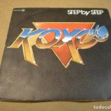 Discos de vinilo: KOXO. STEP BY STEP. Lote 97765499
