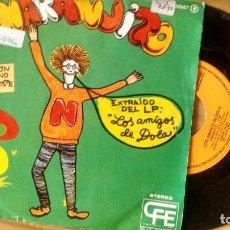 Disques de vinyle: SINGLE (VINILO) DE LOS AMIGOS DE DOLA AÑOS 70. Lote 97783447