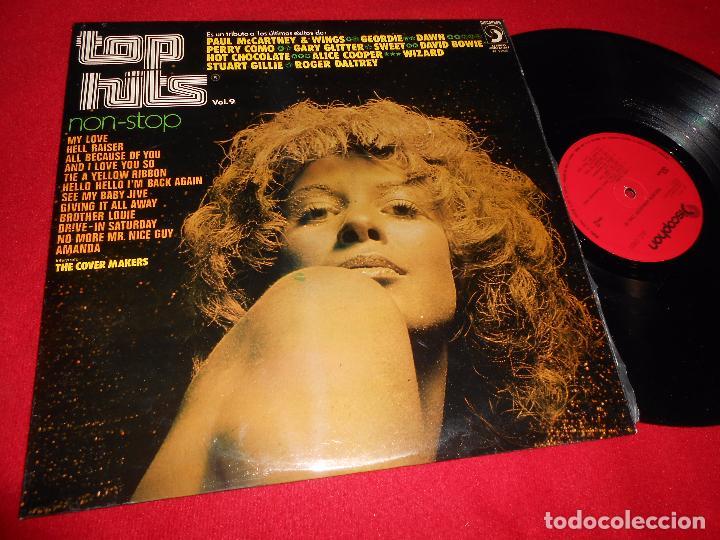 THE COVER MAKERS TOP HITS NON STOP VOL.9 LP 1973 DISCOPHON EDICION ESPAÑOLA SPAIN BEATLES (Música - Discos - LP Vinilo - Orquestas)