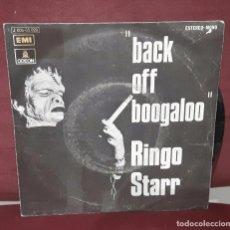 Discos de vinilo: RINGO STARR - BEATLES - BACK OFF BOOGALOO - SINGLE - ESPAÑA. Lote 97800667
