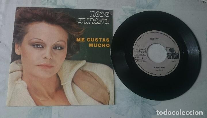 ROCIO DURCAL: ME GUSTAS MUCHO / CUANDO YO QUIERA HAS DE VOLVER (ARIOLA 1979) (Música - Discos - Singles Vinilo - Solistas Españoles de los 70 a la actualidad)