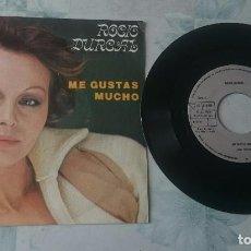 Discos de vinilo: ROCIO DURCAL: ME GUSTAS MUCHO / CUANDO YO QUIERA HAS DE VOLVER (ARIOLA 1979). Lote 97818879
