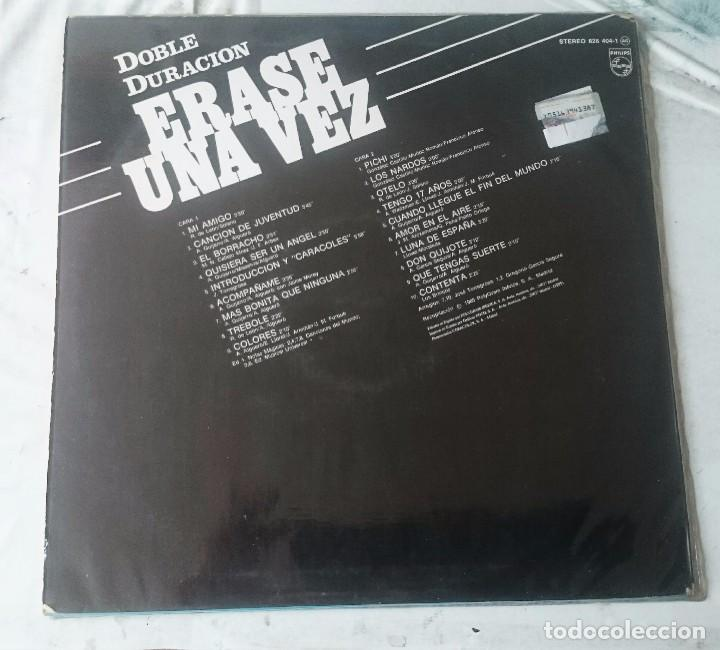 Discos de vinilo: Rocío Durcal: Erase una vez...(Polygram 1985) - Foto 2 - 97818919