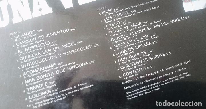 Discos de vinilo: Rocío Durcal: Erase una vez...(Polygram 1985) - Foto 3 - 97818919