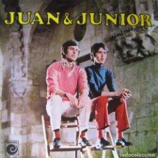 Discos de vinilo: JUAN & JUNIOR: JUAN & JUNIOR. Lote 97829099