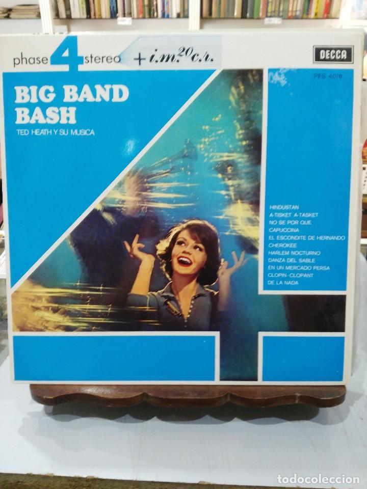 TED HEATH Y SU MÚSICA - BIG BAND BASH - LP. DEL SELLO DECCA DE 1968 (Música - Discos - LP Vinilo - Orquestas)