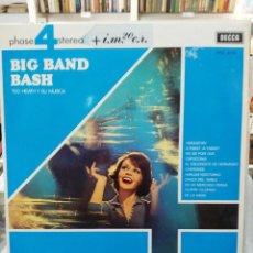 Discos de vinilo - Ted Heath y su Música - Big Band Bash - LP. del sello Decca de 1968 - 97835003
