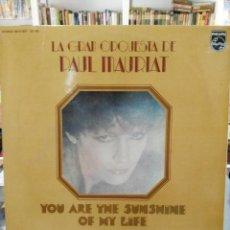 Discos de vinilo: LA GRAN ORQUESTA DE PAUL MAURIAT - YOU ARE THE SUNSHINE OF MY LIFE - DOBLE LP. PHILIPS DE 1977. Lote 97839563