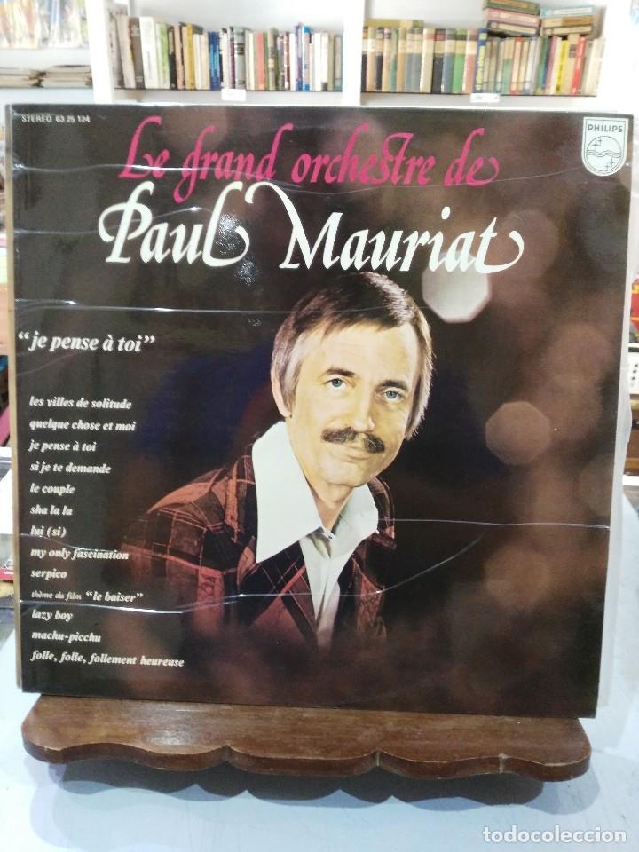 La Gran Orquesta De Paul Mauriat Je Pense à Toi Lp Del Sello Philips De 1974