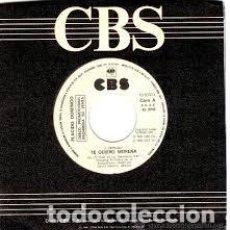 Discos de vinilo: PLACIDO DOMINGO - TE QUIERO MORENA - 7 SINGLE - AÑO 1985. Lote 97840544