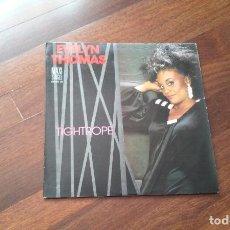 Discos de vinilo: EVELYN THOMAS-TIGHTROPE.MAXI. Lote 97842370