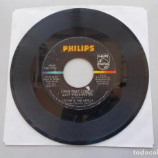 Discos de vinilo: VICTOR & THE SPOILS - I WISH THAT I COULD MAKE YOU LOVE ME - SG - 1966. Lote 97845291