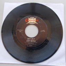 Discos de vinilo: MICKY DOLENZ - DON´T DO IT - SG - 1967. Lote 97845575