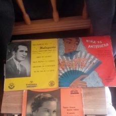 Discos de vinilo: TRES MAXI SINGEL DE LOS AÑOS 50 . Lote 97847170