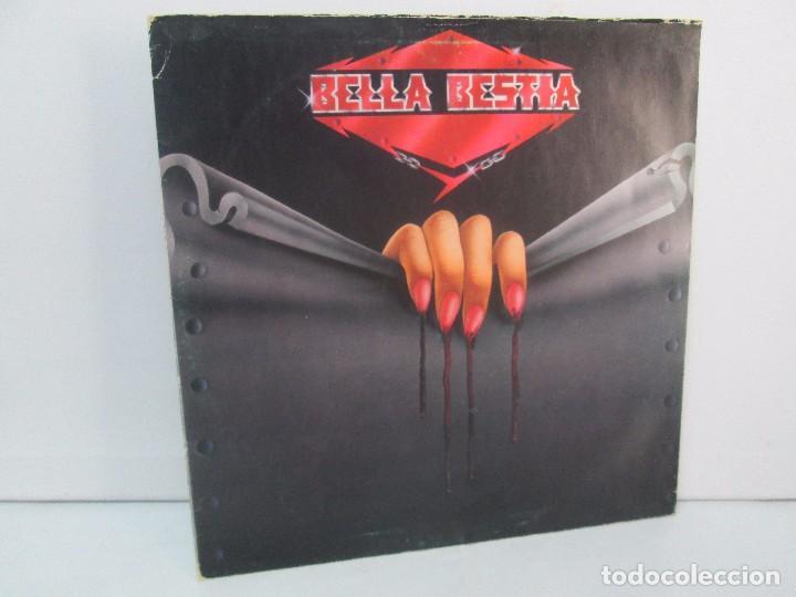 BELLA BESTIA. LP VINILO. EDITADO POR RECORD 83. 1984. VER FOTOGRAFIAS ADJUNTAS (Música - Discos - LP Vinilo - Heavy - Metal)