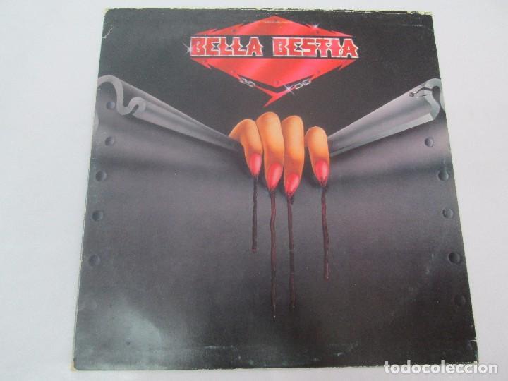 Discos de vinilo: BELLA BESTIA. LP VINILO. EDITADO POR RECORD 83. 1984. VER FOTOGRAFIAS ADJUNTAS - Foto 2 - 97847979