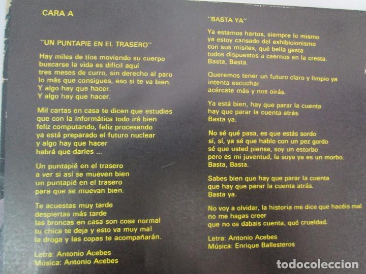 Discos de vinilo: BELLA BESTIA. LP VINILO. EDITADO POR RECORD 83. 1984. VER FOTOGRAFIAS ADJUNTAS - Foto 7 - 97847979