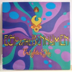 Discos de vinil: ECHO & THE BUNNYMEN - ENLIGHTEN ME / LADY DON´T FALL BACKWARDS - NUEVO ALEMAN. Lote 97853719