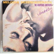 Discos de vinilo: THE RIGHTEOUS BROTHERS - MELODIA DESENCADENADA MEDLEY - NUEVO PROMO ESPAÑOL EDICION LIMITADA. Lote 97855595