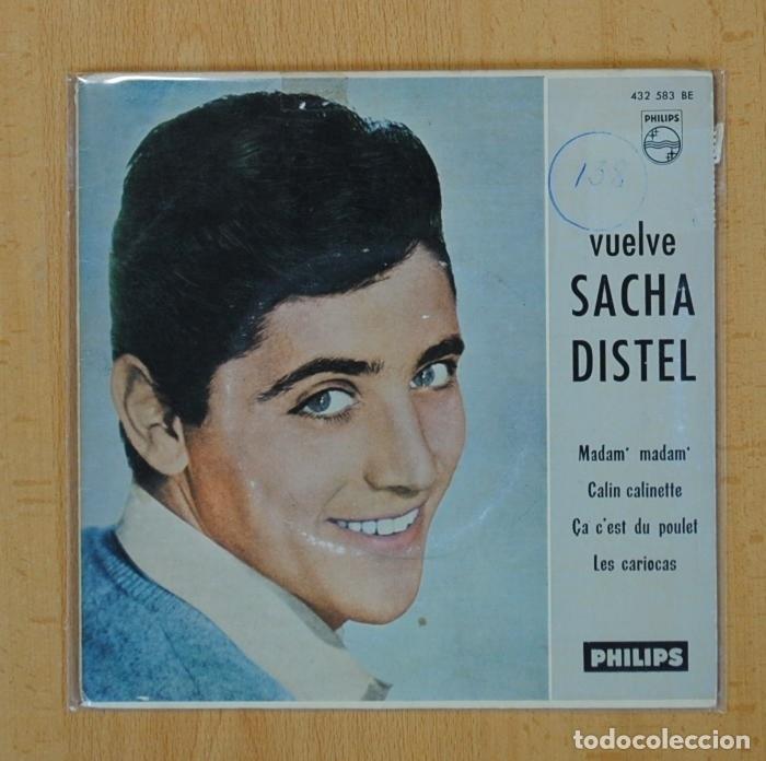 SACHA DISTEL - MADAM MADAM + 3 - EP (Música - Discos de Vinilo - EPs - Canción Francesa e Italiana)