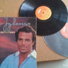 Discos de vinilo: JULIO IGLESIAS 25 EXITOS DE ORO. Lote 97859383
