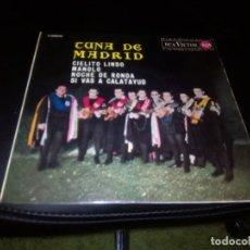 Discos de vinilo: TUNA DE MADRID / CIELITO LINDO / EP 45 RPM / RCA. Lote 97867531