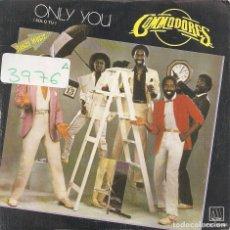 Discos de vinilo: COMMODORES - ONLY YOU / CEBU (SINGLE PROMO ESPAÑOL, MOTOWN 1983). Lote 97869307