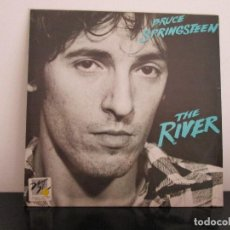 Discos de vinilo: BRUCE SPRINGSTEE = THE RIVER = DOBLE LP. Lote 97871103