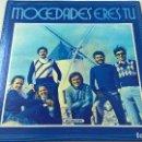 Discos de vinilo: MOCEDADES-ERES TU-TOUCH THE WIND-LP-TARA RECORDS-TRS 53000-RARA EDICION AMERICANA-N.. Lote 97872731