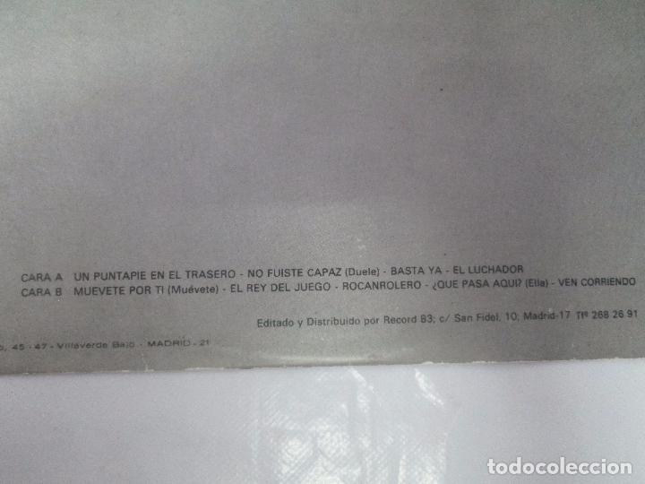 Discos de vinilo: BELLA BESTIA. LP VINILO. EDITADO POR RECORD 83. 1984. VER FOTOGRAFIAS ADJUNTAS - Foto 19 - 97847979