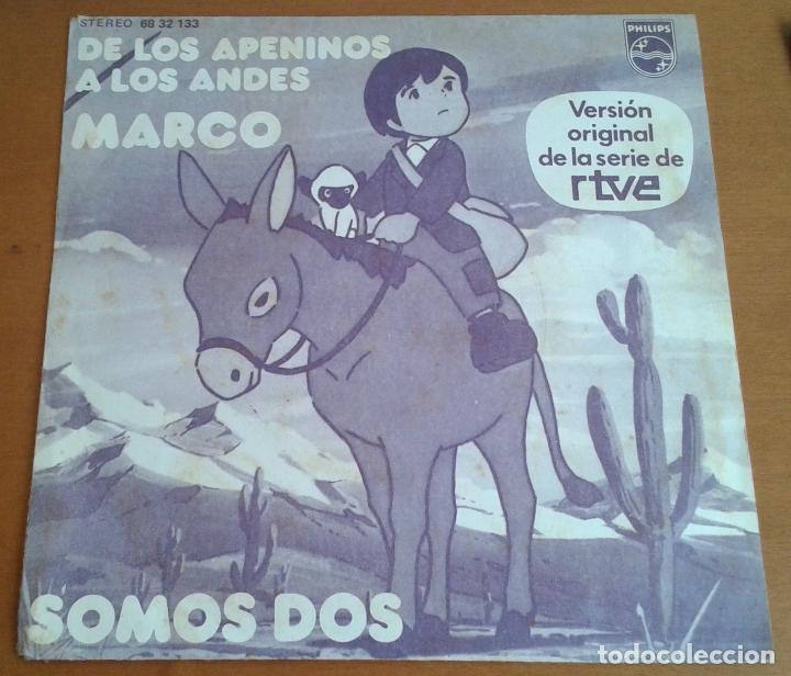 MARCO. MÚSICA SERIE RTVE. SOMOS DOS. (Música - Discos - Singles Vinilo - Música Infantil)