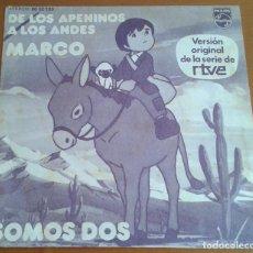 Discos de vinilo: MARCO. MÚSICA SERIE RTVE. SOMOS DOS.. Lote 97875895