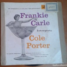 Discos de vinilo: FRANKIE CARLE INTERPRETA A COLE PORTER. Lote 97876299