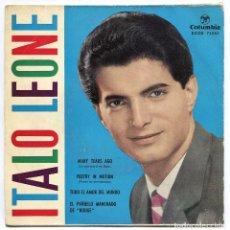 Discos de vinilo: DISCO EP 45 RPM - ITALO LEONE (ECGE 71555). Lote 97876511