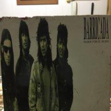 Discos de vinilo: BARRICADA-PASION POR EL RUIDO-1989. Lote 97886443