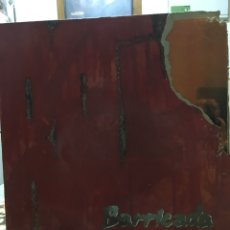 Discos de vinilo: BARRICADA-ROJO-1988-LETRAS. Lote 97886547